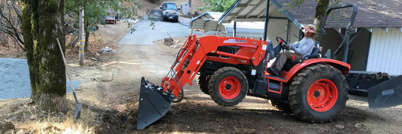 Tractor Work in Nevada County California