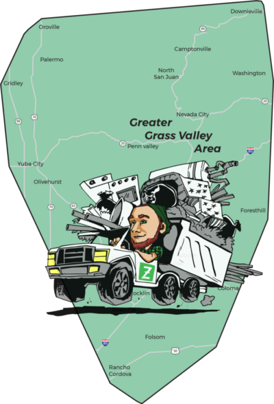 Map and truck