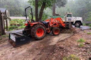 Landscape Grading with Zap Haul