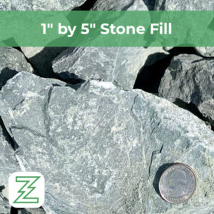 """1"""" by 5"""" Stone Fill"""