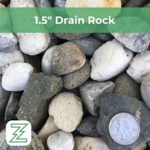 "1.5"" Drain Rock"