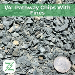 """1:4"""" Pathway Chips With Fines"""