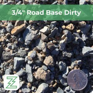 "3:4"" Road Base Dirty"