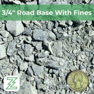"""3:4"""" Road Base With Fines"""