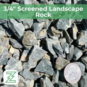 """3:4"""" Screened Landscape Rock"""